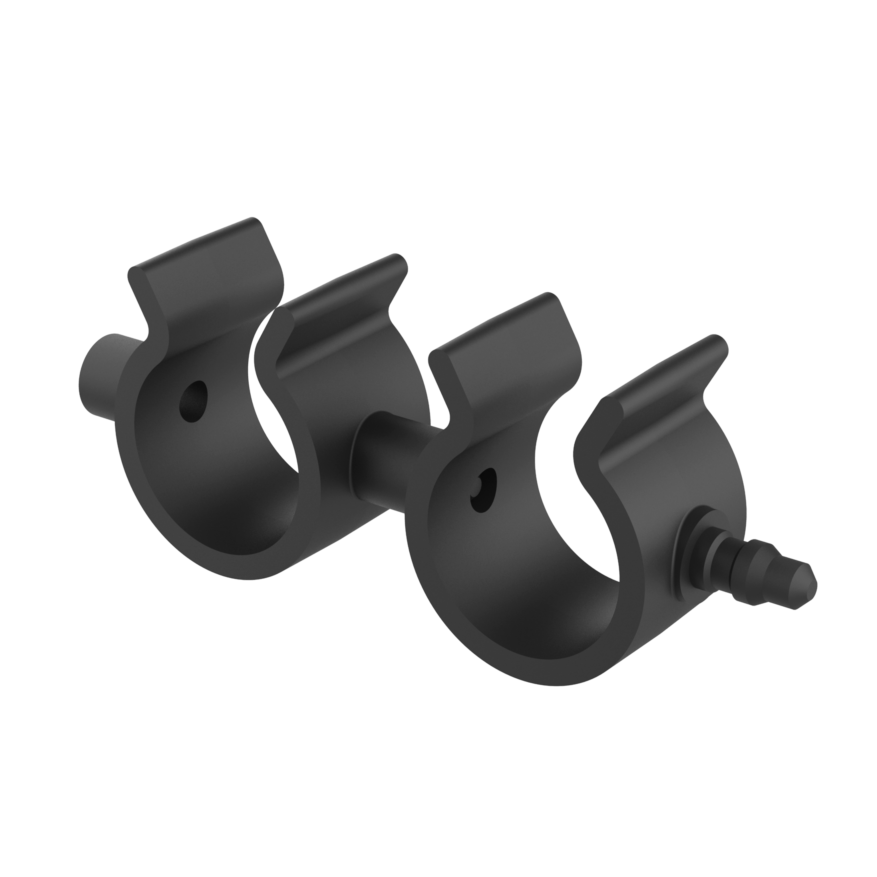 Swivel double clamp