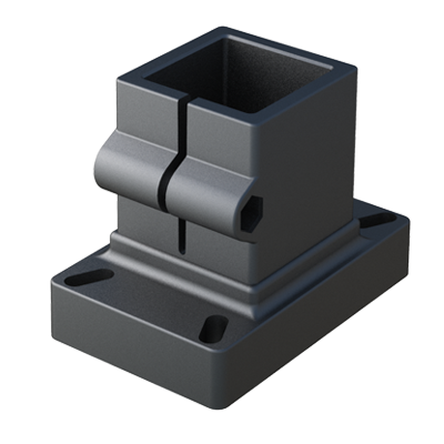 Connector for square tubes