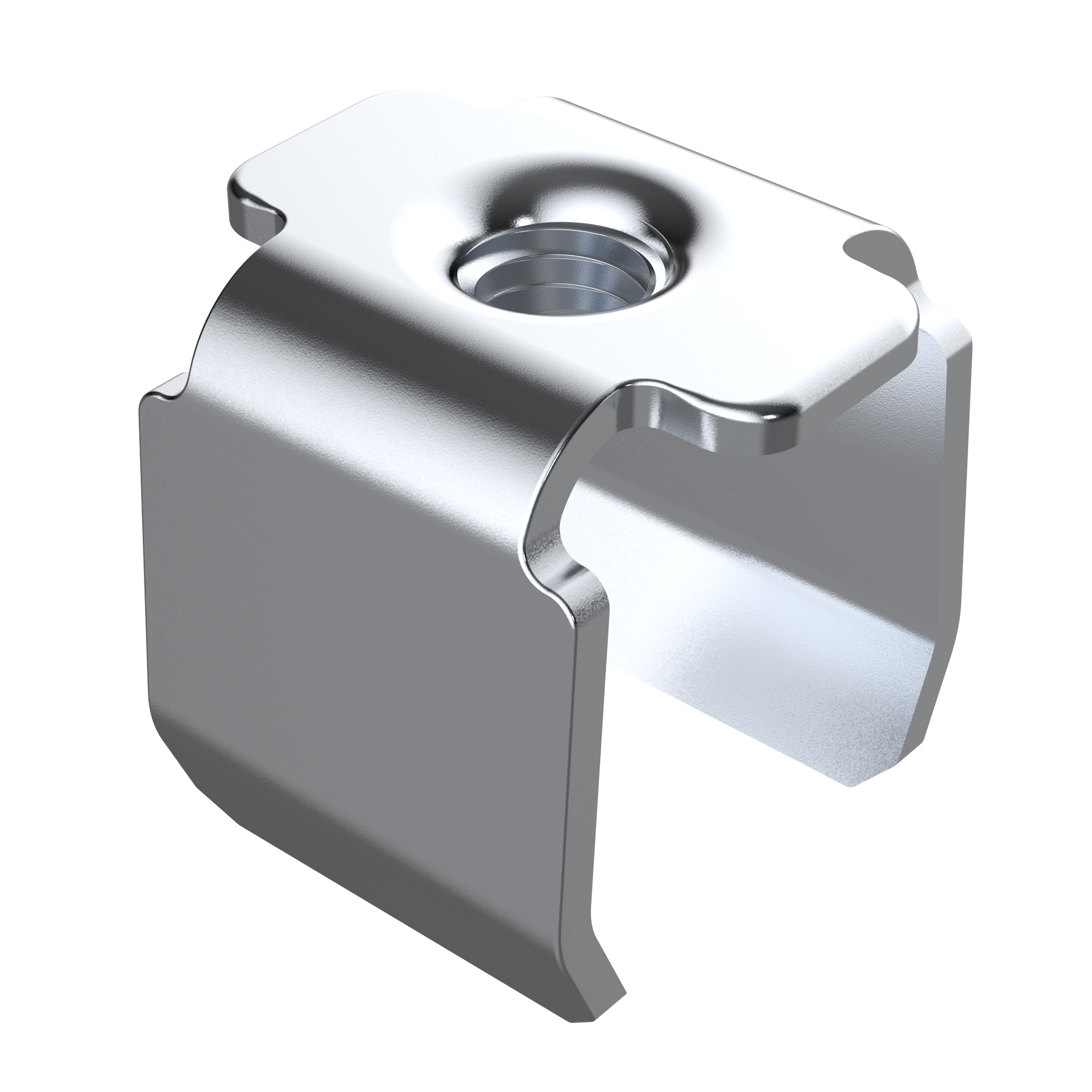 Square threaded tube insert