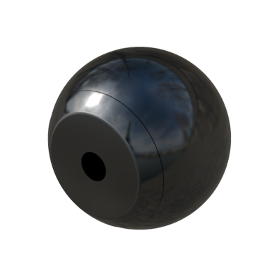 Female ball knob
