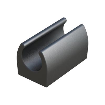 saddle foot for round tubes isc plastic parts. Black Bedroom Furniture Sets. Home Design Ideas