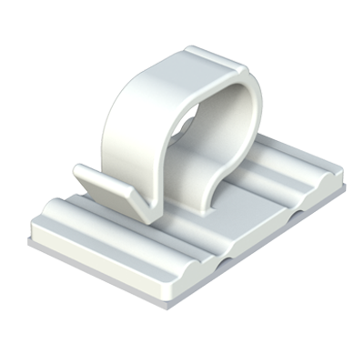 Adhesive wire clips - ISC Plastic Parts