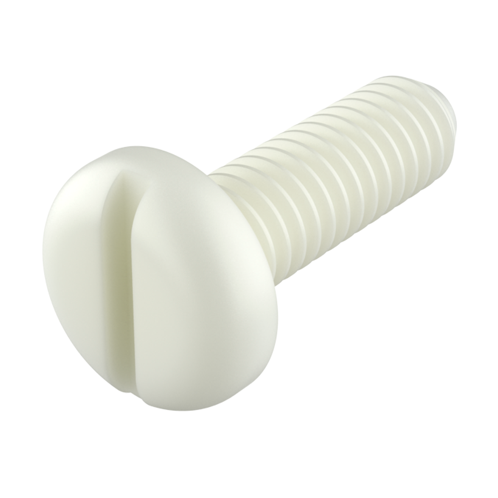 Pan slotted head screw
